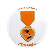 "Agent Orange 3.5"" Button (100 pack)"