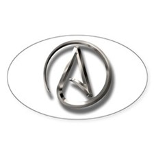 International Atheism Symbol Decal