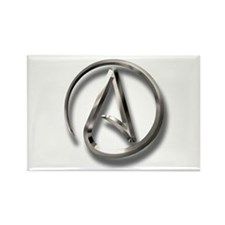 International Atheism Symbol Rectangle Magnet (10