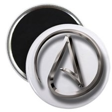 "International Atheism Symbol 2.25"" Magnet (100 pac"