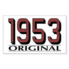 1953 Original Rectangle Decal