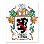 Burnell Coat of Arms Small Poster