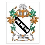Bunbury Coat of Arms Small Poster