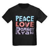 Peace Love Romney Ryan T