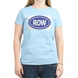 ROW Women's Pink T-Shirt