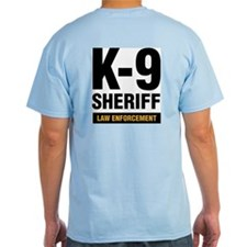 k-9 Dog Handler T-Shirt Sheriff Law Enforcement