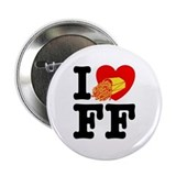 I Love French Fries Button
