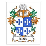 Blood Coat of Arms Small Poster