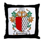 Blanchfield Coat of Arms Throw Pillow