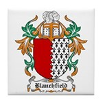 Blanchfield Coat of Arms Tile Coaster