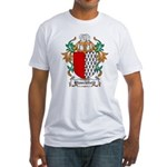Blanchfield Coat of Arms Fitted T-Shirt