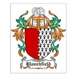 Blanchfield Coat of Arms Small Poster