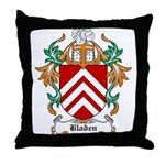 Bladen Coat of Arms Throw Pillow