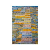 Klee - Highways Byways Rectangle Magnet