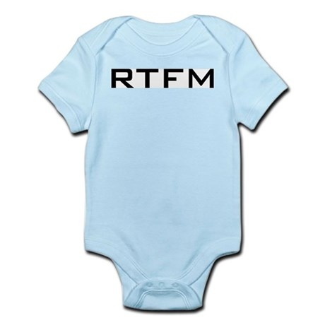 RTFM Infant Creeper
