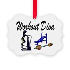 WORKOUT & GYM Ornament
