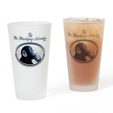 The Thinking Monkey Drinking Glass