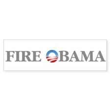 Fire Obama Bumper Sticker