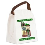 FIN-cats-house-home.png Canvas Lunch Bag