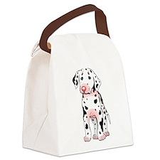 sad-dalmatian-puppy... Canvas Lunch Bag