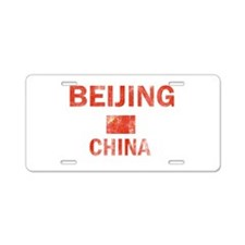 Beijing China Designs Aluminum License Plate