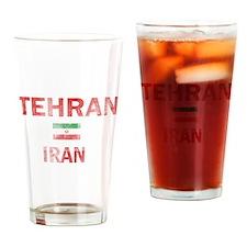 Tehran Iran Designs Drinking Glass