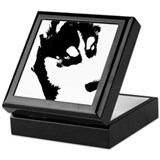 Siberian Husky Keepsake Box