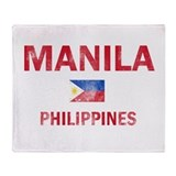 Manila Philippines Designs Throw Blanket