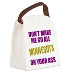 Minnesota Football Canvas Lunch Bag