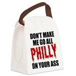 Philadelphia Baseball Canvas Lunch Bag