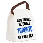 toronto-baseball-blue-black.png Canvas Lunch Bag