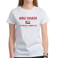 Abu Dhabi United Arab Emirates Designs Tee