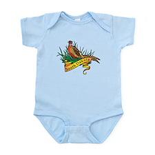 South Dakota Pheasant Infant Bodysuit