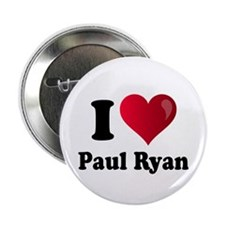"I Heart Paul Ryan 2.25"" Button"