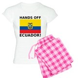 Hands off Ecuador! pajamas