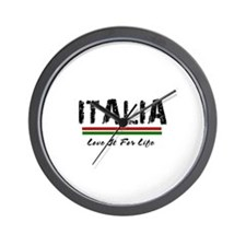 Itala~Love It For Life 950x950.png Wall Clock