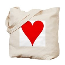 Hearts Playing Card Symbol Tote Bag