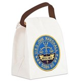 USS JOHN MARSHALL Canvas Lunch Bag
