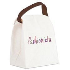 """Fashionista"" Canvas Lunch Bag"