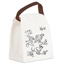 Tally Ho Canvas Lunch Bag
