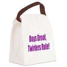 BOYS DROOL Canvas Lunch Bag