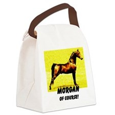 AFTM Morgan Horse Of Course Canvas Lunch Bag