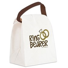 Ring Bearer Canvas Lunch Bag