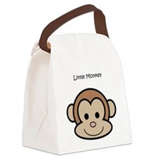 Little Monkey Canvas Lunch Bag