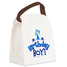 Birthday Boy Canvas Lunch Bag