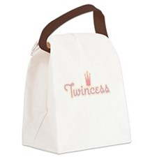Twincess Canvas Lunch Bag