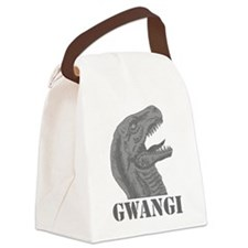 Grayscale Gwangi Canvas Lunch Bag