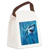 Great White 2 Canvas Lunch Bag