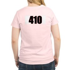"Harm City ""410"" Women's Pink T-Shirt"