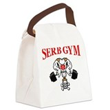 Cute Serb Canvas Lunch Bag